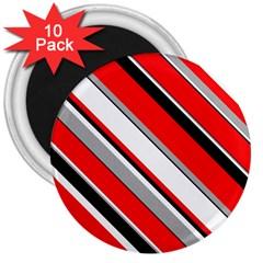 Pattern 3  Button Magnet (10 Pack) by Siebenhuehner