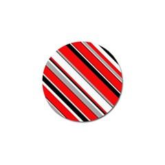 Pattern Golf Ball Marker 4 Pack by Siebenhuehner