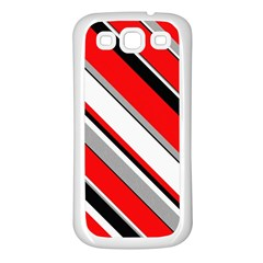 Pattern Samsung Galaxy S3 Back Case (white) by Siebenhuehner