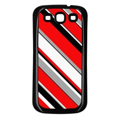 Pattern Samsung Galaxy S3 Back Case (black) by Siebenhuehner