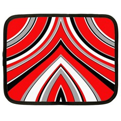Pattern Netbook Sleeve (xl) by Siebenhuehner