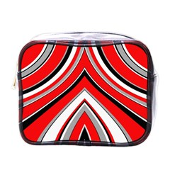 Pattern Mini Travel Toiletry Bag (one Side) by Siebenhuehner