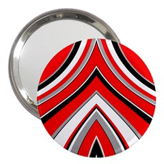 Pattern 3  Handbag Mirror by Siebenhuehner