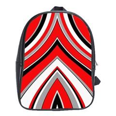 Pattern School Bag (xl) by Siebenhuehner