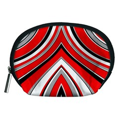 Pattern Accessory Pouch (medium) by Siebenhuehner