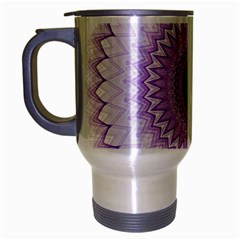 Mandala Travel Mug (silver Gray) by Siebenhuehner
