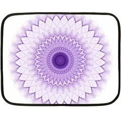 Mandala Mini Fleece Blanket (two Sided) by Siebenhuehner