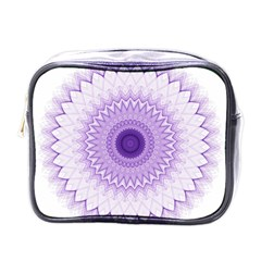 Mandala Mini Travel Toiletry Bag (one Side) by Siebenhuehner