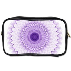 Mandala Travel Toiletry Bag (one Side) by Siebenhuehner