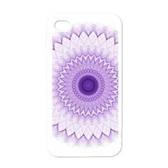 Mandala Apple Iphone 4 Case (white) by Siebenhuehner