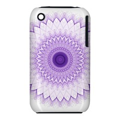 Mandala Apple Iphone 3g/3gs Hardshell Case (pc+silicone) by Siebenhuehner