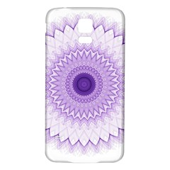 Mandala Samsung Galaxy S5 Back Case (white) by Siebenhuehner