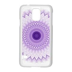 Mandala Samsung Galaxy S5 Case (white) by Siebenhuehner