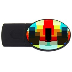 Pattern 1GB USB Flash Drive (Oval) by Siebenhuehner