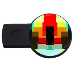 Pattern 4gb Usb Flash Drive (round) by Siebenhuehner