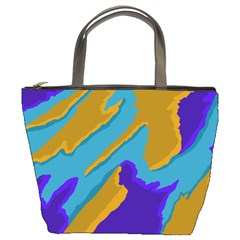 Pattern Bucket Handbag by Siebenhuehner