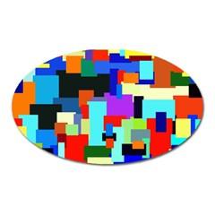 Pattern Magnet (oval)
