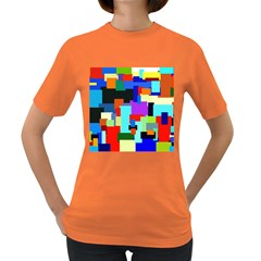 Pattern Women s T Shirt (colored)