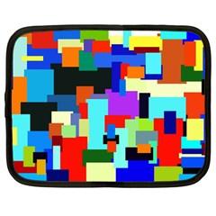 Pattern Netbook Sleeve (large) by Siebenhuehner
