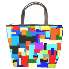 Pattern Bucket Handbag