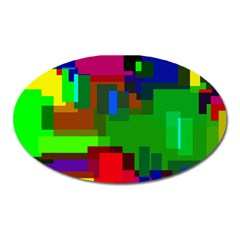 Pattern Magnet (oval)