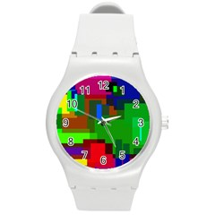 Pattern Plastic Sport Watch (medium)