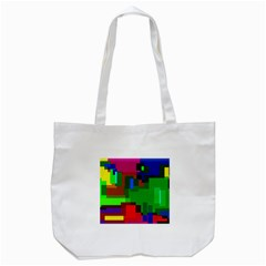 Pattern Tote Bag (white) by Siebenhuehner