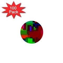 Pattern 1  Mini Button (100 Pack)
