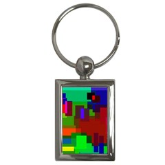 Pattern Key Chain (rectangle)