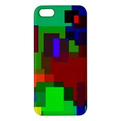 Pattern Apple Iphone 5 Premium Hardshell Case by Siebenhuehner