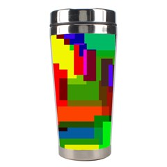 Pattern Stainless Steel Travel Tumbler by Siebenhuehner