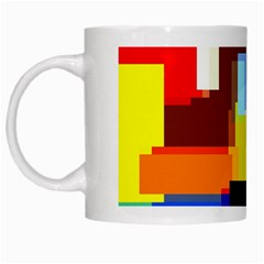 Pattern White Coffee Mug by Siebenhuehner
