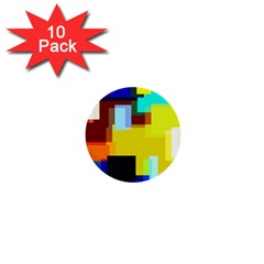 Pattern 1  Mini Button (10 Pack)