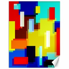 Pattern Canvas 12  X 16  (unframed) by Siebenhuehner