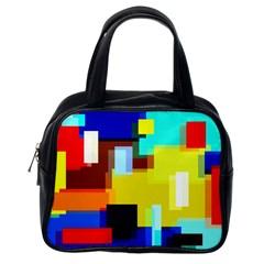 Pattern Classic Handbag (one Side)