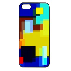 Pattern Apple Iphone 5 Seamless Case (black)