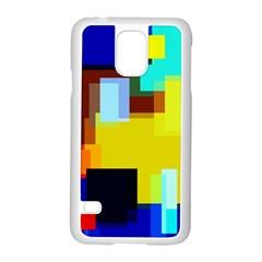 Pattern Samsung Galaxy S5 Case (white) by Siebenhuehner