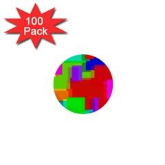 Pattern 1  Mini Button (100 Pack) by Siebenhuehner