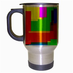 Pattern Travel Mug (silver Gray)