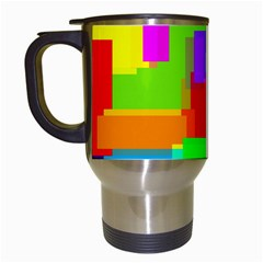 Pattern Travel Mug (white)