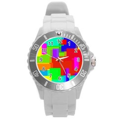 Pattern Plastic Sport Watch (large)
