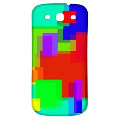 Pattern Samsung Galaxy S3 S Iii Classic Hardshell Back Case by Siebenhuehner