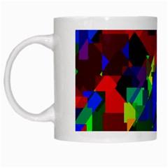 Pattern White Coffee Mug