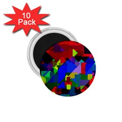 Pattern 1 75  Button Magnet (10 Pack)