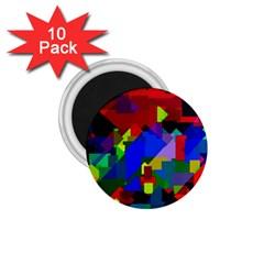 Pattern 1 75  Button Magnet (10 Pack) by Siebenhuehner
