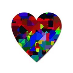 Pattern Magnet (heart) by Siebenhuehner