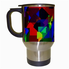 Pattern Travel Mug (white) by Siebenhuehner