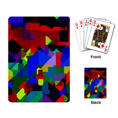 Pattern Playing Cards Single Design