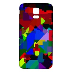 Pattern Samsung Galaxy S5 Back Case (white) by Siebenhuehner