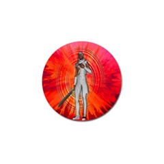 White Knight Golf Ball Marker 4 Pack by icarusismartdesigns